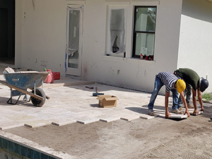 swimming pool deck repair